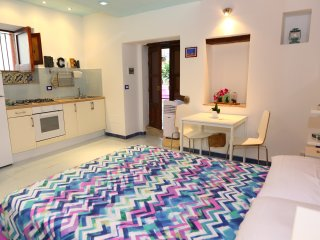 Spacious ground-floor studio, super central and near the beach, Cefalu