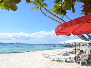 2 BR Sandals Boracay Beachfront with Awesome Sea View