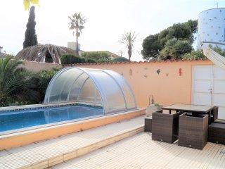 A07 Casa con piscina para 8 personas