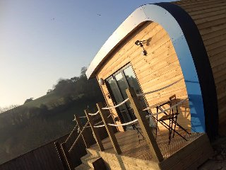 An Idyllic Glamping Escape Pod-  a unique stay