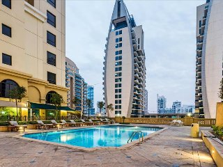 2BR JBR Luxury Apartment with beach access!
