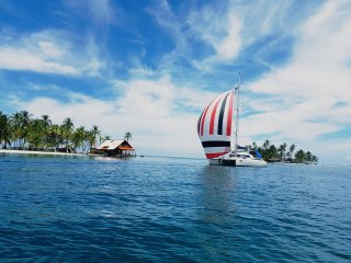 Rent a Catamaran in San Blas Panama