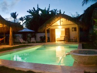 Sans Souci is Care Free in Las Terrenas, steps from the best beach & restaurants