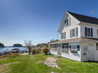 Waterfront House with Views of Working Harbor and Open Ocean from Every Room, Georgetown