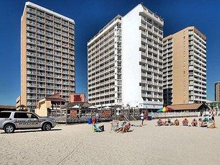 Oceanfront Sands Ocean Club, indoor pool, outdoor pool, wifi, washer/dryer