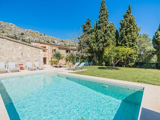 Villa with private pool in Pollensa (Ull de la Font)