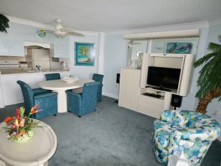 The Pyramid...One bedroom ocean front condo 3D  on the beach, Ocean City