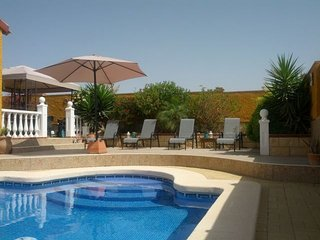 Fabulous 2 Bed Family Villa with Private Pool, Wi-Fi, Air Con & Satellite TV