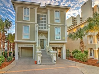 5BR Seagrove Beach Home w/ Gulf Views Heated Pool!
