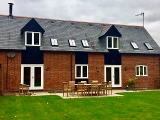 Meadow Lodge set in a pretty rural village just 2 miles from Salisbury
