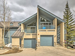 New! 4BR Breckenridge Townhome w/ Private Hot Tub!