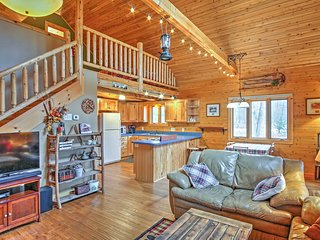 Remote Pentwater Cabin w/ Wooded Views & Privacy