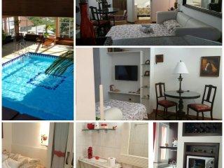 CENTRO DE GRAMADO (piscina termica, tv a cabo, wifi e garagem)
