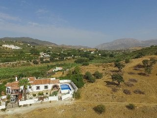 Villa with private pool and games/cinema room in country location.