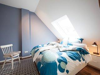 Schlafzimmer Ferienwohnung Ludgerushof Bocholt