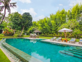 Spacious luxury 5 bd villa, 5mn from Brawa beach, pool, billiard, big garden