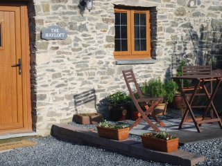 Tanyresgair Cottages: The Hayloft - luxury cottage in barn conversion, mid-Wales
