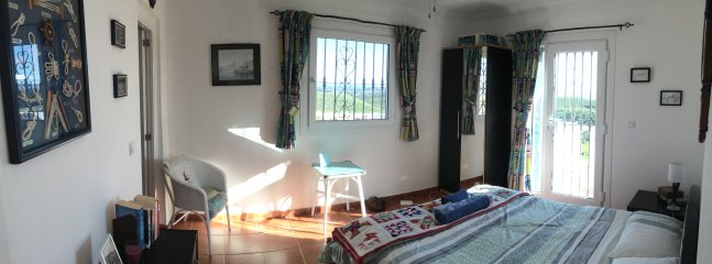 Sunny south facing bedroom