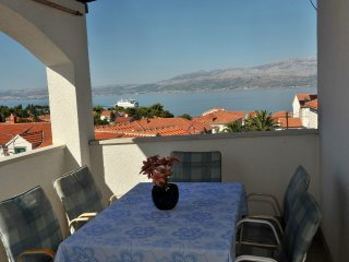 Apartments Lucija - Comfort Two Bedroom Apartment with Sea View Terrace(A1)