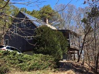 Contemporary Cape home in Private, Wooded Area, Wellfleet