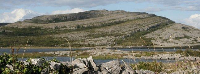 Burren hills.