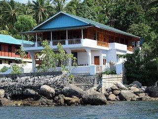 Beach villa Sulawesi