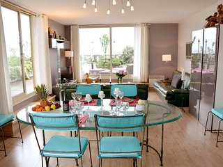 3 BR Rental with Terrace at Montparnasse in Paris