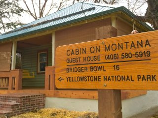 Cabin On Montana: A Quiet, Clean, Modern Cabin in Downtown Bozeman, Montana