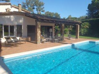 Villa de lujo, 8 pers, Golf Costa Brava