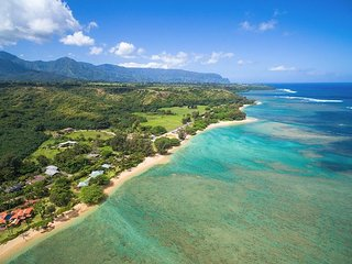 Anini Beach Home - beach access across street! Great for families - TVNC#4255