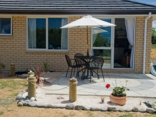 patio area to enjoy a glass of wine after a hard day sightseeing
