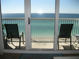 Unobstructed gulf view, 22nd Floor Celadon Beach Condo