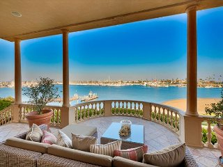 Historic waterfront mansion beach access, tennis, & views!