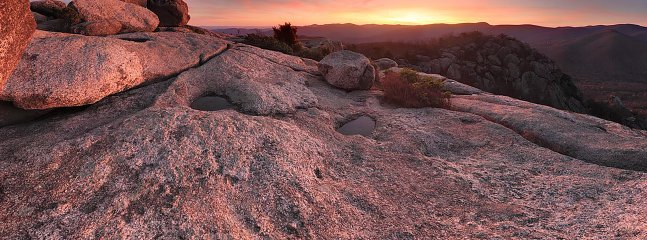 Old Rag, the Blue Ridge Mountains and the Skyline Drive are a short ride from West Park Gardens.