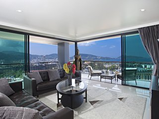 Panoramic View Apartment in Patong
