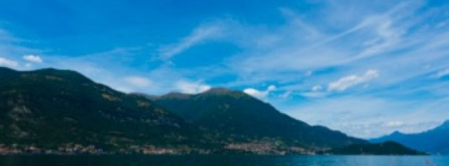 Views over Lake Como during the day time