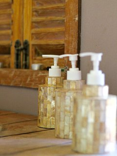 Refill bottles to provide eco lifestyle filled with best natural products of Lombok