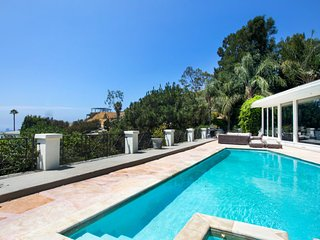 Breathtaking Hollywood Hills Mansion with Pool and Great West Hollywood Views