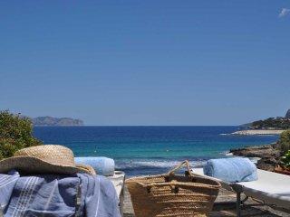 Villa Mal Pas con vista mar y acceso privado a la playa de Sant Pere, Alcudia