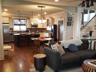 Large cozy open floor plan.