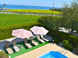 Latchi Beach Villa - Amazing Uninterrupted Sea Views - Private Pool - Wifi