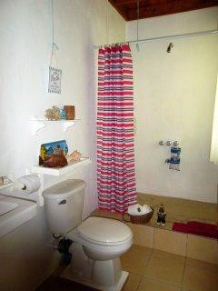 En-suite shower room...
