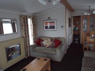 8 berth deluxe caravan