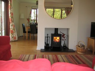 Midwood Lodge - tree house and 5 mins walk to the beach!, Alnmouth
