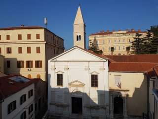 Piran Near Sea - Histroric Renovated House With Private Roof Terrace
