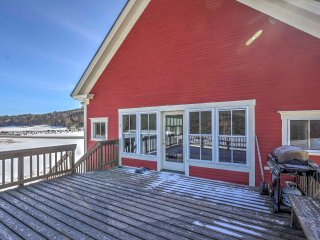 East Burke Home w/Large Deck On Mtn Bike Trails!