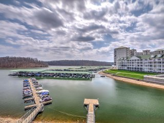 NEW! 2BR Lakefront Osage Beach Condo w/ Balcony!