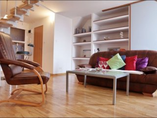 Podwale 2 apartment in Nowe Miasto with WiFi & air conditioning.