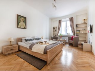 Spacious Podwale 3 apartment in Nowe Miasto with WiFi.
