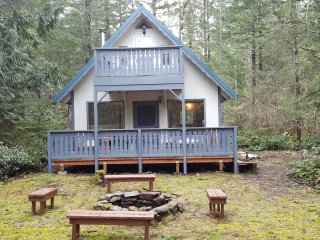 Get-Away to Mt. Rainier in a Dog Friendly Cabin